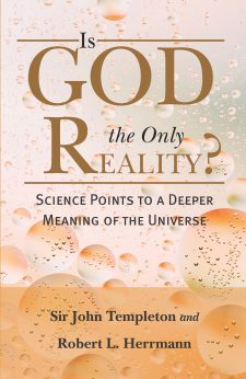 Is God the Only Reality? book cover, published by Templeton Press