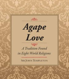 Agape Love, book cover, published by Templeton Press