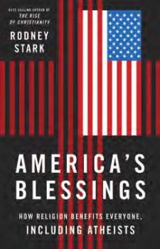 America's Blessings book cover, published by Templeton Press