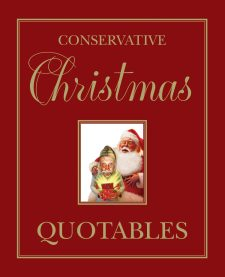 Conservative Christmas Quotables book cover, published by Templeton Press