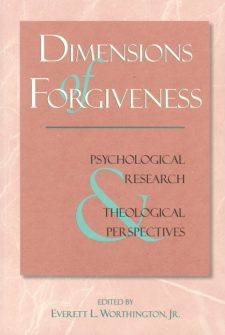 Dimensions of Forgiveness book cover, published by Templeton Press