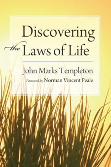 Discovering the Laws of Life book cover, published by Templeton Press