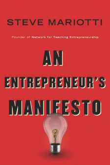 An Entrepreneur's Manifesto book cover, published by Templeton Press