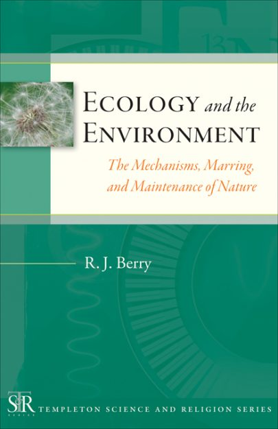 Ecology and the Environment book cover, published by Templeton Press