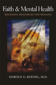 Faith and Mental Health book cover, published by Templeton Press