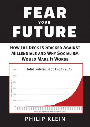 Fear Your Future book cover, published by Templeton Press