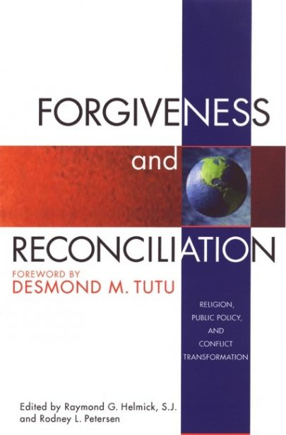 Forgiveness and Reconciliation book cover, published by Templeton Press