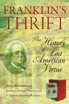Franklin's Thrift book cover, published by Templeton Press
