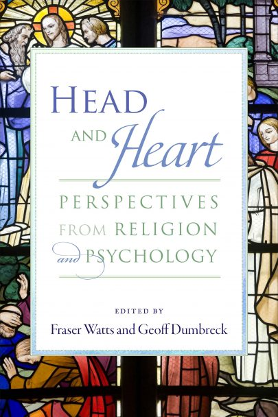 Head and Heart book cover, published by Templeton Press