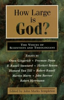 How Large Is God? book cover, published by Templeton Press