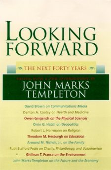 Looking Forward book cover, published by Templeton Press