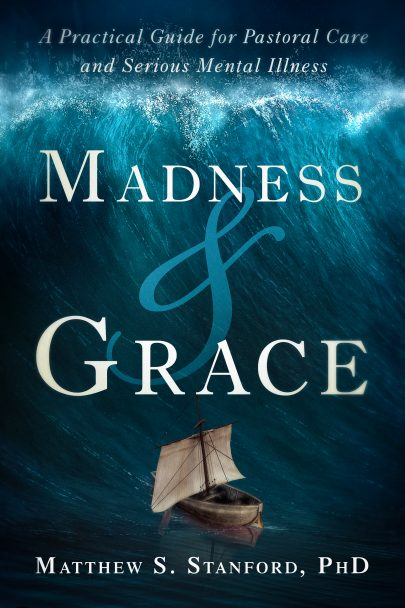 Madness and Grace book cover, published by Templeton Press