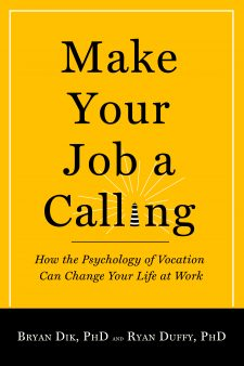 Make Your Job a Calling book cover, published by Templeton Press