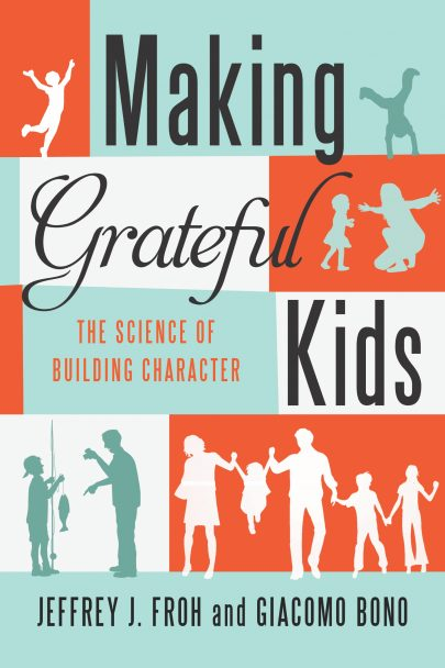 Making Grateful Kids book cover, published by Templeton Press