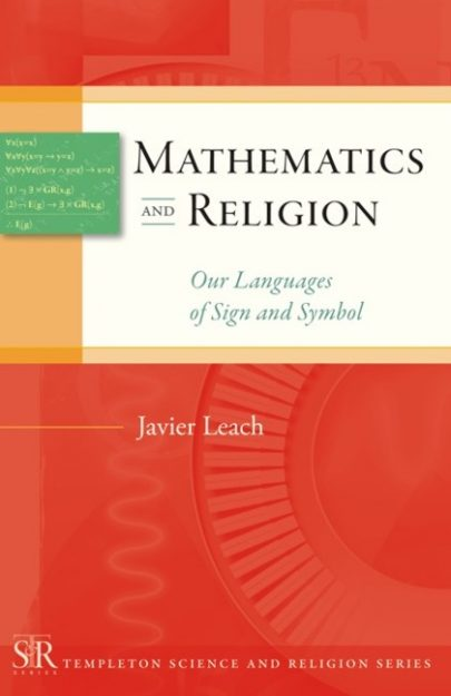 Mathematics and Religion book cover, published by Templeton Press