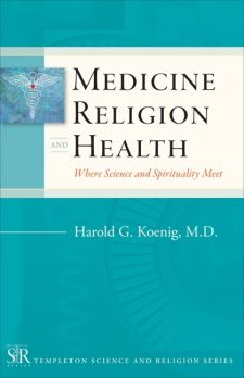 Medicine, Religion, and Health book cover, published by Templeton Press