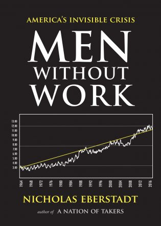 Men Without Work book cover, published by Templeton Press