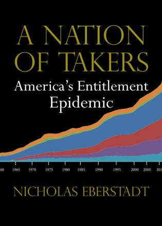 A Nation of Takers book cover, published by Templeton Press
