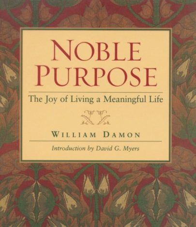 Noble Purpose book cover, published by Templeton Press