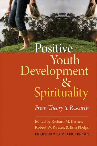 Positive Youth Development and Spirituality book cover, published by Templeton Press