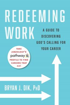 Redeeming Work book cover, published by Templeton Press