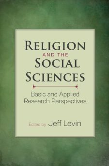 Religion and the Social Sciences book cover, published by Templeton Press
