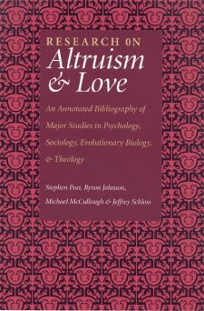 Research on Altruism and Love book cover, published by Templeton Press