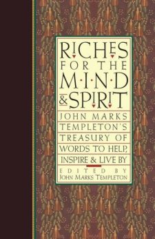 Riches for the Mind & Spirit book cover, published by Templeton Press