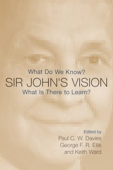 Sir John's Vision book cover, published by Templeton Press