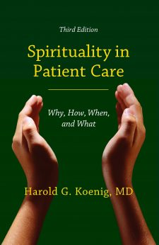 Spirituality in Patient Care book cover, published by Templeton Press