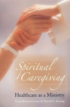 Spiritual Caregiving book cover, published by Templeton Press