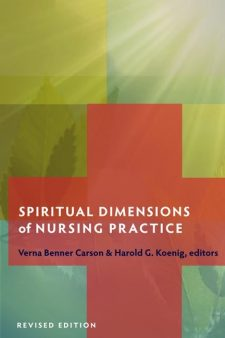 Spiritual Dimensions of Nursing Practice book cover, published by Templeton Press