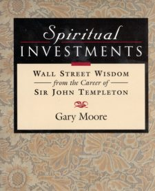 Spiritual Investments book cover, published by Templeton Press