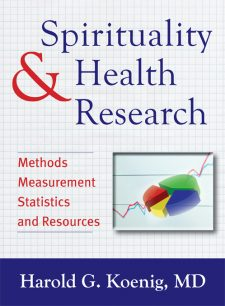 Spirituality and Health Research book cover, published by Templeton Press