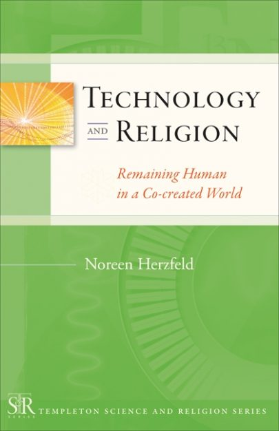 Technology and Religion book cover, published by Templeton Press