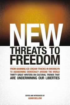 New Threats to Freedom book cover, published by Templeton Press