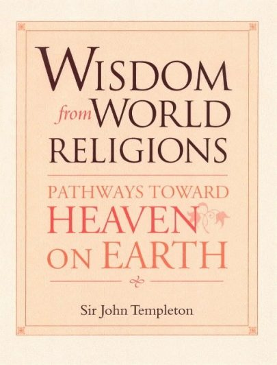 Wisdom from world religions, book published by Templeton Press