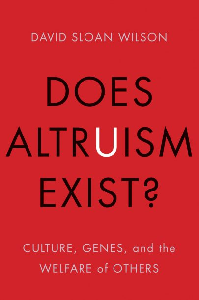 Does Altruism Exist? book cover, published by Templeton Press